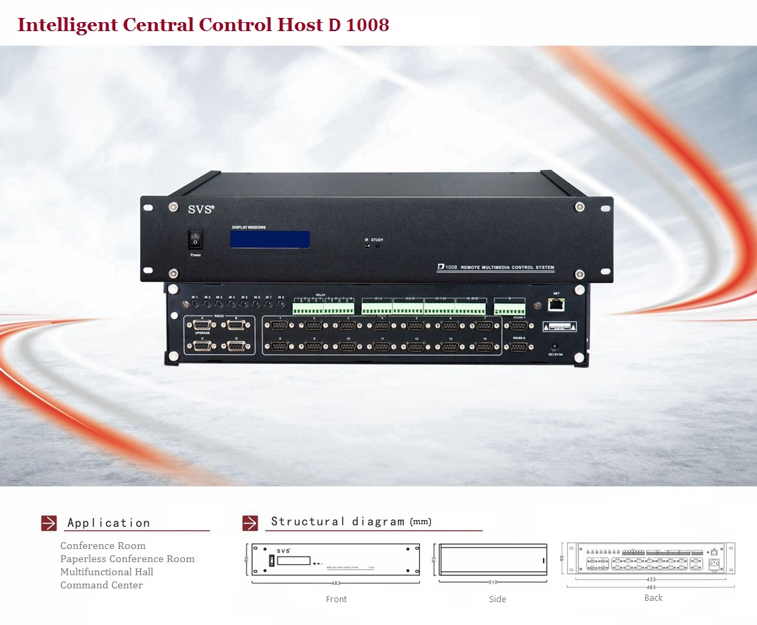 Paperless Conference System|HD Hybrid Matrix|Central Control System|Featured Loudspeaker System
